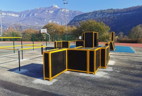 Facility for outdoor exercise