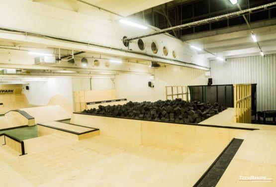 AvePark - cubierto skatepark