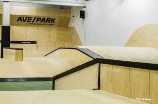 AvePark (Varsovia) cubierto skatepark