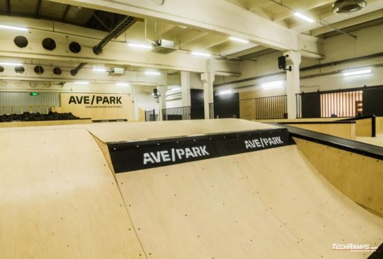 AvePark in Warsaw - hall