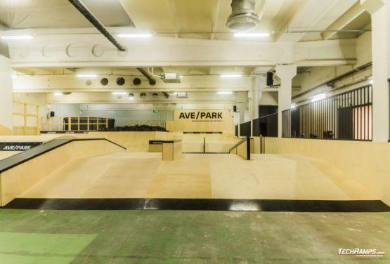 AvePark in Warschau- innen skatepark