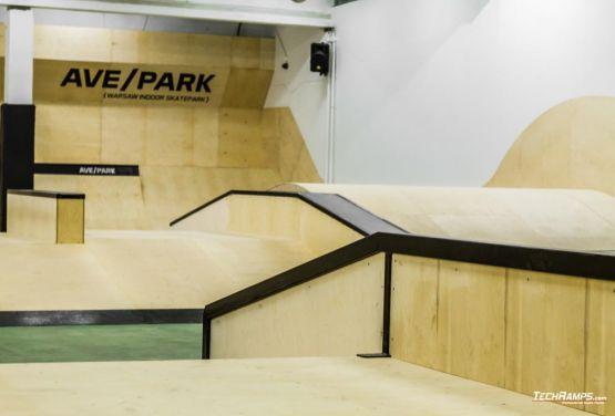 AvePark (Warschau) innen skatepark