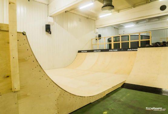 AvePark skatepark na hali