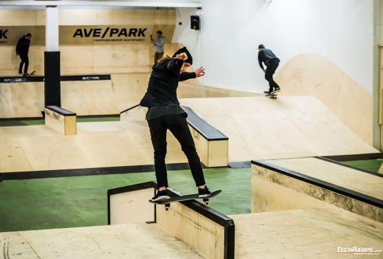 AvePark skatepark modułowy