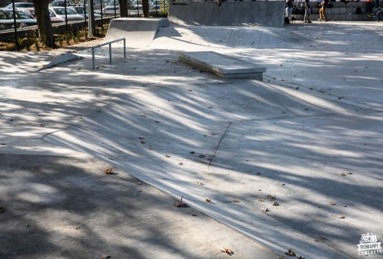Nakło nad Notecią - Skatepark - beton skatepark