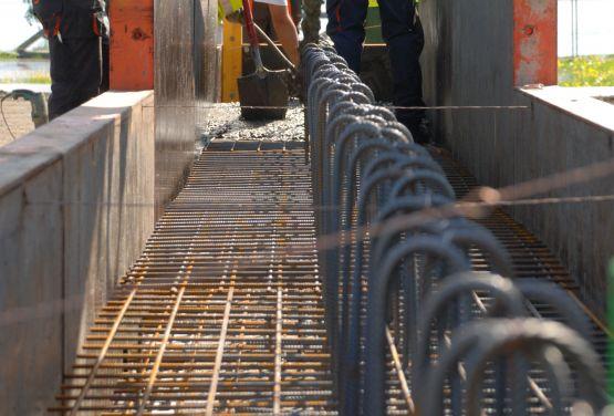 en construction à Lillehammer
