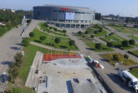 Ergo Arena Skatepark in Gdańsk