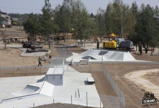 Skatepark à Olkusz
