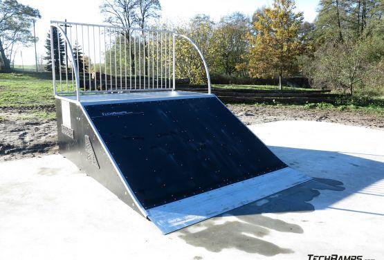 Bank ramp - Żelechlinek