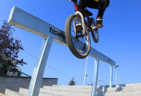 Będzin - Techramps Beton-Skatepark-Monolithen