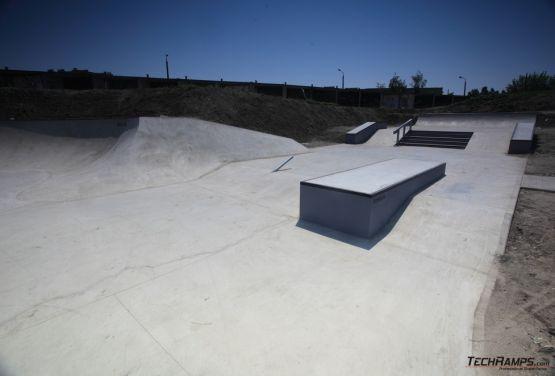 Elementy wykonane z betonu skatepark Opole