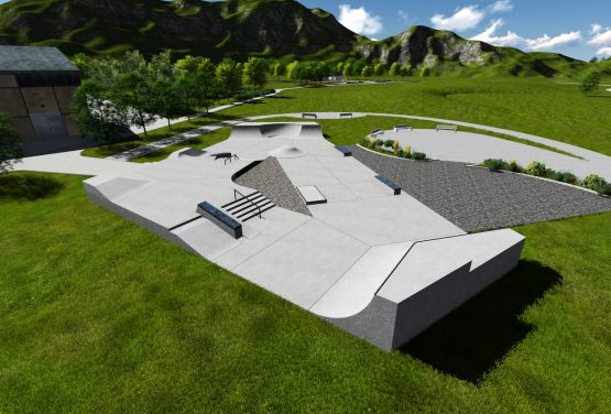 Skatepark designe - Techramps