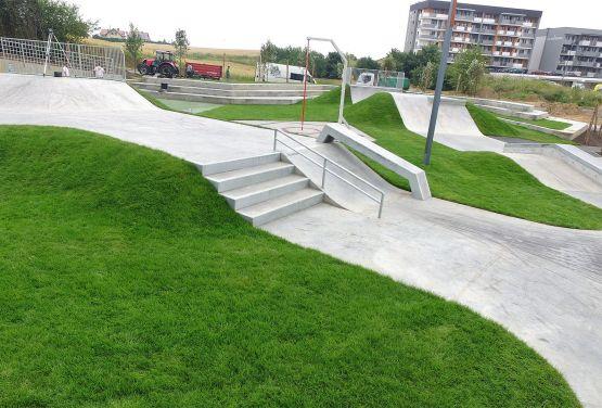 Beton skatepark in Świecie von Techramps Gruppe