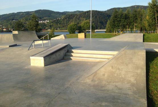 Lillehammer Skatepark in Norwegen