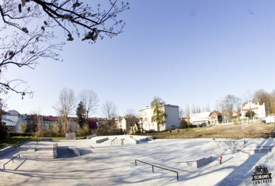 Skatepark beton - Techramps