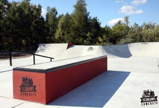 Skatepark Betonowy w Trzebieży