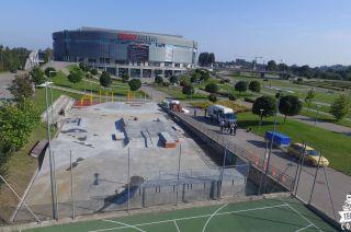 Skatepark monolitycznt Gdańsk