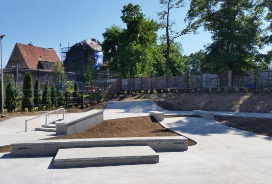 Concrete skatepark Żagań