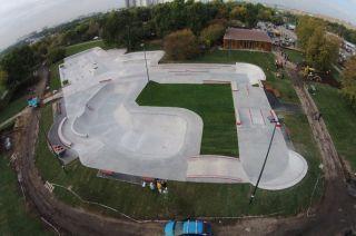 Beton skateparks -  Moscow Techramps