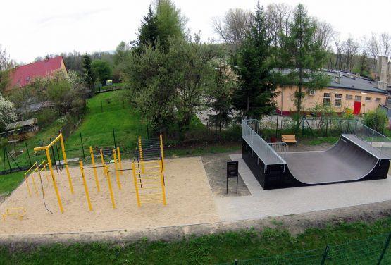 Street Workout Park w Bogatyni