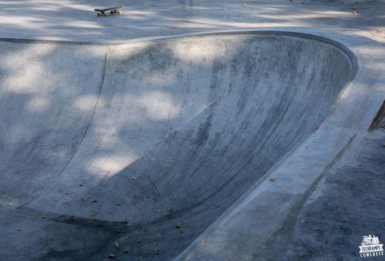 béton skatepark Nakło nad Notecią