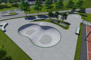 Skatepark in Kalisz in Polen