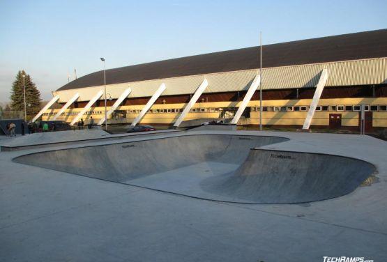 Bowl en béton - Oświęcim