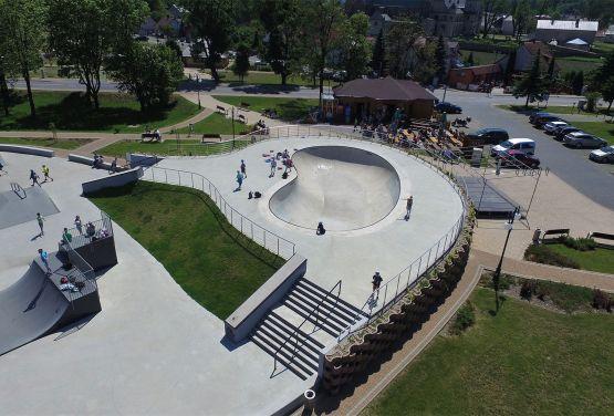 Drohne - skateparks