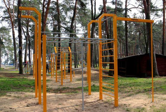 Street workout park - Kozienice