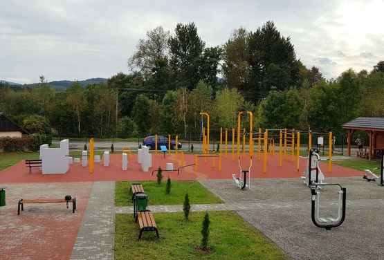 Calisthenics and parkour park in Maków Podhalański