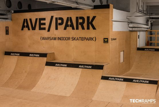 Całoroczny kryty skatepark