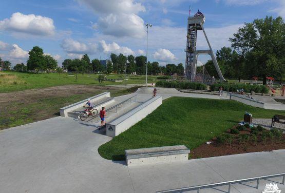 Skatepark for skateboards/bmx