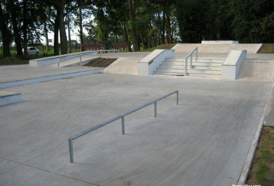 Concrete plaza Stepnica
