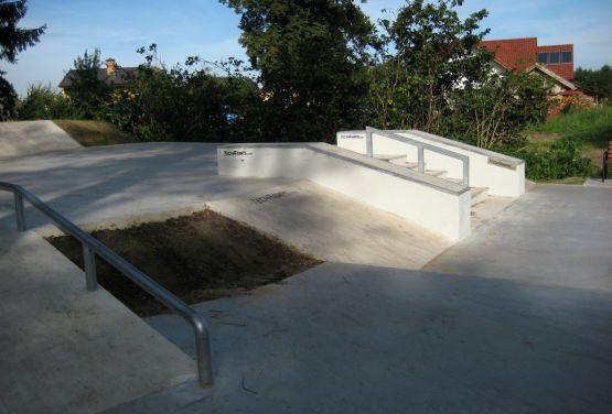 Skatepark à Stepnica