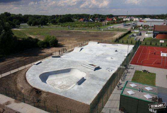 Concrete skatepark - Wolsztyn