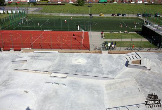 Concrete skateparks - Wolsztyn