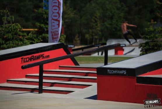 Skatepark Przysucha - woodcamp
