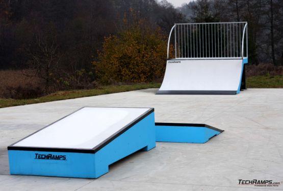 Concrete modular obstacles