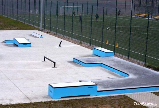 Concrete skateplaza in Torzym