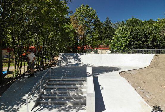 skatepark creado por Techramps Grupo