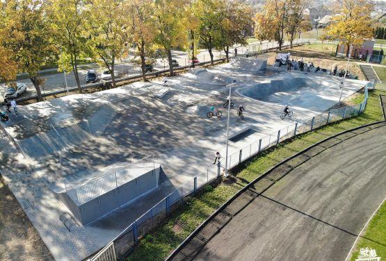 Concreto skateapark en Nakło