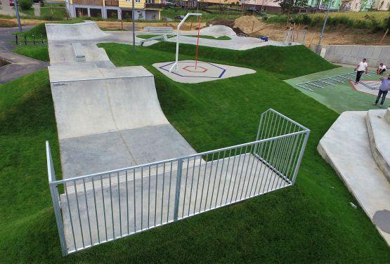 Techramps - skatepark en Świecie