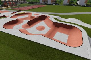 Wejherowo skatepark en Polonia