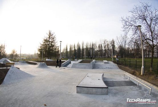 Construction of skateplaza in Cracow completed