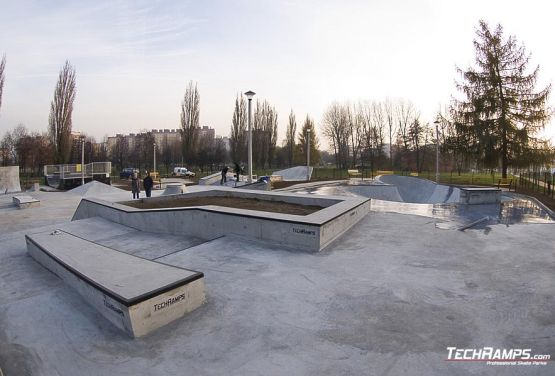 Construction of skateplaza in Krakow completed