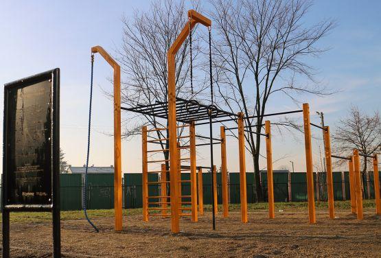 Parque de ejercicios estándar