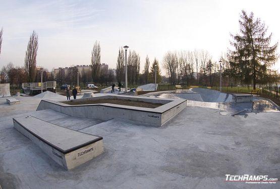 Der Bau der Skateplaza in Krakau ist abgeschlossen