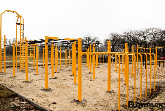 FlowPark for street workout in Warsaw