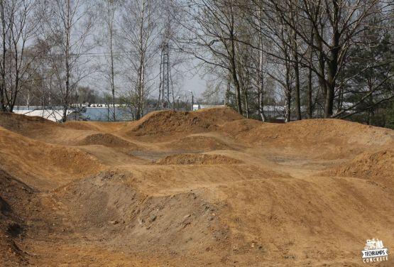 Dirt Park für Fahrräder in Olkusz