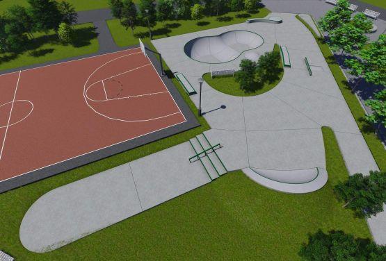 Skatepark en Kalisz - documentación